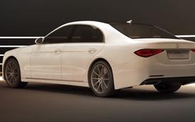 Lộ thiết kế được cho là Mercedes-Benz S-Class đời mới
