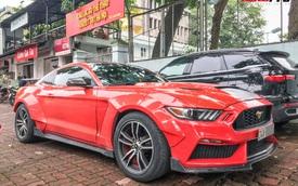 Dân chơi Lào Cai mang Ford Mustang độ phong cách chẳng giống ai tới Hà Nội