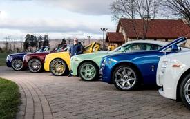 Dân chơi khét tiếng sở hữu 10 màu sơn xe Rolls-Royce đặt theo tên mình