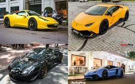 Ferrari và Lamborghini, đâu là thương hiệu đang phổ biến hơn tại Việt Nam?