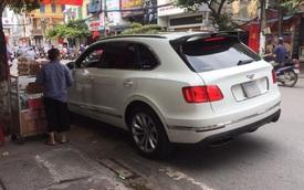 Sau va chạm gãy bánh, Bentley Bentayga độ Mansory độc nhất Việt Nam bất ngờ xuất hiện trên đường phố