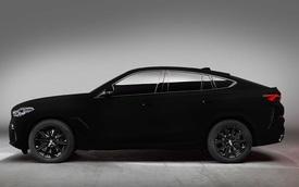 BMW X6 Vantablack: Đen tới mức... không thể đen hơn!