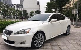 Chạy 10 năm, Lexus IS 250 vẫn có giá ngang Toyota Altis 2019