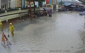 Điểm mặt các con phố Hà Nội bị ngập do ảnh hưởng của bão số 3 Wipha