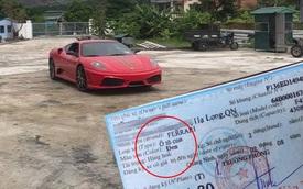 Ferrari F430 Scuderia từng của Dũng 'mặt sắt' trở lại Quảng Ninh với một chi tiết lạ trên giấy đăng ký gây tranh cãi