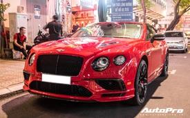 Bất ngờ xuất hiện phiên bản giới hạn Bentley Continental SuperSports Convertible đầu tiên tại Việt Nam