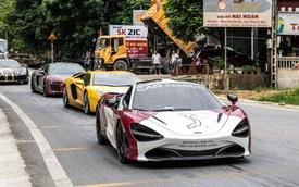 Hành trình siêu xe Vietnam Rally chuẩn bị tiền trạm 3.000km: Có McLaren 720S diện mạo mới và bán tải hậu cần