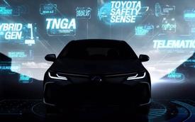 Toyota Corolla Altis thế hệ mới chốt lịch ra mắt tại Thái Lan - Bước đệm về Việt Nam