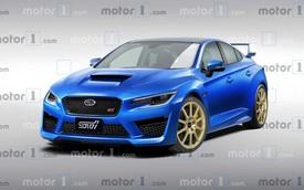 Subaru WRX, WRX STI và Levorg mới có thể ra mắt ngay trong năm sau