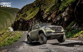 Đối mặt án khai tử, Mercedes-Benz X-Class vẫn được các nhà độ quan tâm hết mực
