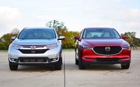 Mazda CX-5 đối đầu Honda CR-V: Chọn công nghệ, tiện nghi hay thực dụng?