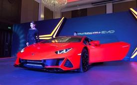 Lamborghini Huracan EVO chính hãng chào hàng đại gia Campuchia