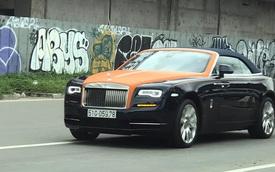 Rolls-Royce Dawn độc nhất Việt Nam bị bắt gặp với diện mạo mới lạ nhưng có một chi tiết gây tiếc nuối