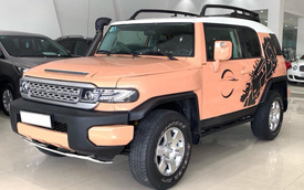 Hàng hiếm Toyota FJ Cruiser lên sàn xe cũ, giá rẻ ngang Fortuner 2019
