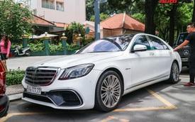 Cận cảnh Mercedes-Benz S-Class 'độ'  bodykit S63 độc đáo của dân chơi Sài Gòn