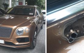 Bentley Bentayga mất gương, cư dân mạng nhắn nhủ kẻ trộm: 'Vặt xong thì bán cho ai...'