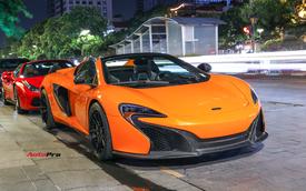 Chia tay đại gia Hà Thành, McLaren 650S Spider màu độc độ hơn 600 triệu đồng về tay dân chơi Sài Gòn