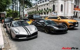 Trước thềm tiền trạm ASEAN Rally 2020, Cường 'Đô-la' cùng dàn siêu xe tụ tập cuối tuần tại Sài Gòn