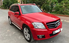 """Bán Mercedes-Benz GLK giá ngang Toyota Vios, chủ xe vẫn nói: """"Có thể thương lượng thêm"""""""