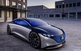 Chiêm ngưỡng Mercedes Vision EQS: Đỉnh cao thiết kế từ trong ra ngoài