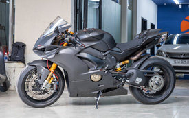 Ducati V4S độ hơn gần 800 triệu tiền đồ chơi chủ nhân người Sài Gòn
