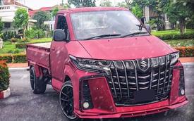 Dân chơi độ bán tải Suzuki Carry sang phong cách 'chuyên cơ mặt đất' Toyota Alphard