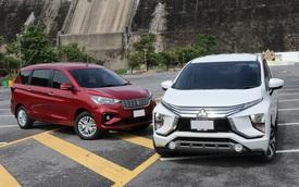 Suzuki Ertiga 'hụt hơi' trước Mitsubishi Xpander trong cuộc đua doanh số tại Việt Nam