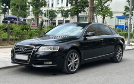9 năm tuổi, Audi A6 bán lại ngang giá Mazda3 mua mới