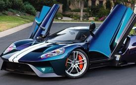 Lớp sơn xe đắt nhất, bắt mắt nhất thế giới thuộc về chiếc Ford GT này