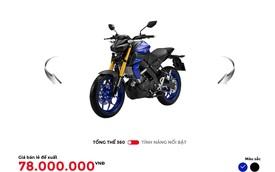 Yamaha Việt Nam phân phối MT-15 chính hãng với giá 78 triệu đồng