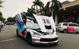 3 năm tuổi, Chevrolet Corvette '7 sắc cầu vồng' bán lại ngang giá Mercedes-Benz S-Class 2019 mua mới
