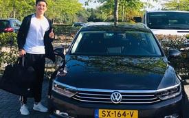 Chiếc ô tô mà cầu thủ Đoàn Văn Hậu được cấp khi thi đấu tại Hà Lan có giá bao nhiêu?