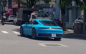 Porsche 911 Carrera S thế hệ mới đầu tiên tại Việt Nam ra biển số