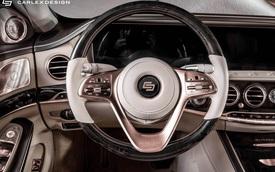 Carlex Design trình làng bản độ Maybach S650 xa xỉ dành cho những đại gia yêu thích vàng hồng