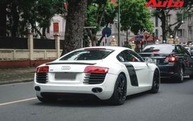 Dân chơi mang Audi R8 duy nhất tại Hà Nội xuống phố ngày Quốc khánh