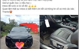 Xe Trung Quốc WEY VV7 được rao bán với mức giá hơn 300 triệu đồng, nhưng giấy tờ mới đáng chú ý