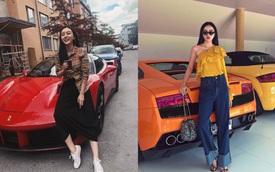 Dàn siêu xe và xe sang đắt đỏ của nhà hot girl Việt lấy chồng người Thái Lan
