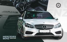 Người dùng đánh giá Mercedes-Benz E 400 AMG 4 năm tuổi: Sướng cái thân và phải sướng cả người đi cùng