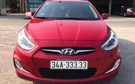 Mua Hyundai Accent cũ, chủ xe như 'vớ được vàng' khi bốc được biển số