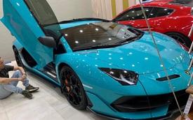 Lamborghini Aventador SVJ độc nhất Việt Nam chính thức lộ diện màu sơn