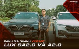 Thử khả năng vận hành của bộ đôi VinFast Lux qua 3 bài tập ngắn do chuyên gia nước ngoài thiết kế