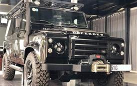 4 năm tuổi, phiên bản siêu hiếm của Land Rover Defender vẫn có giá 3,9 tỷ đồng - ngang Evoque mua mới