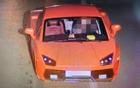 Lái Lamborghini fake chưa đến 50 triệu ra đường, người phụ nữ bị công an tạm giữ, thu xe