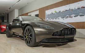Chi tiết Aston Martin DB11 màu Kopi Bronze độc nhất Việt Nam vừa về đại lý