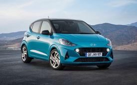 Trình diện Hyundai i10 hoàn toàn mới - Áp lực của Toyota Wigo, Honda Brio