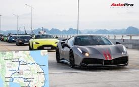 Tiết lộ hành trình 3.600km và 60 giờ lái xe tiền trạm ASEAN Rally 2020
