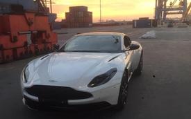 Thêm Aston Martin DB11 V8 về Việt Nam: Màu sơn không 'đụng hàng'