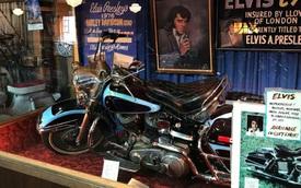 Mô tô Harley-Davidson của ông hoàng nhạc Rock & Roll đắt thứ 3 thế giới