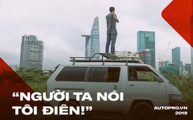 Gặp gã đàn ông 'điên' độ xe Toyota Van LE 1987 để đi vòng quanh Việt Nam trong 2 năm