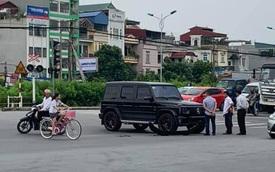 Mercedes-AMG G63 Edition 1 rơi cản trước sau va chạm giao thông tại Hà Nội